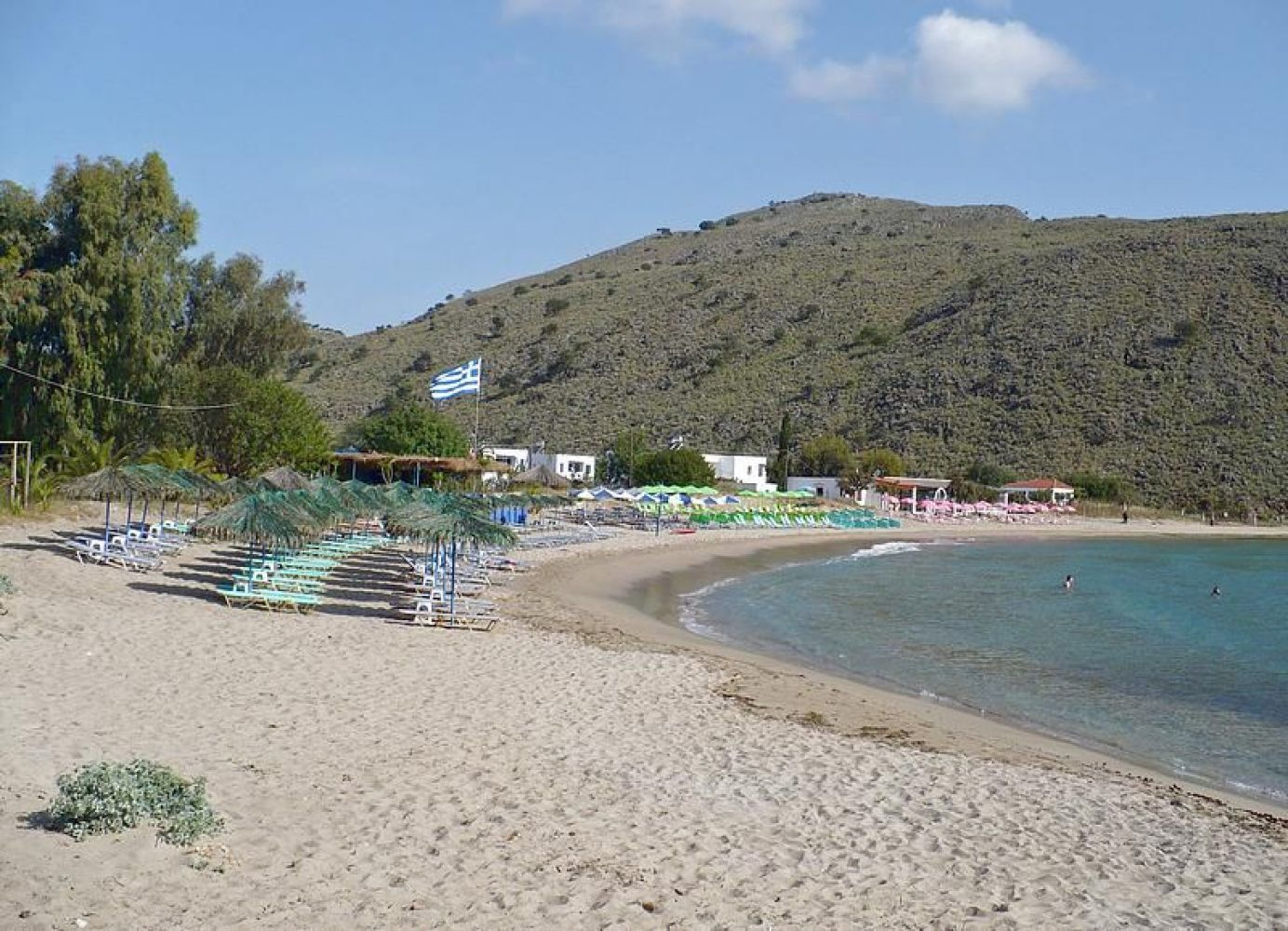 Kalivaki Beach: A Favorite For Families With Children