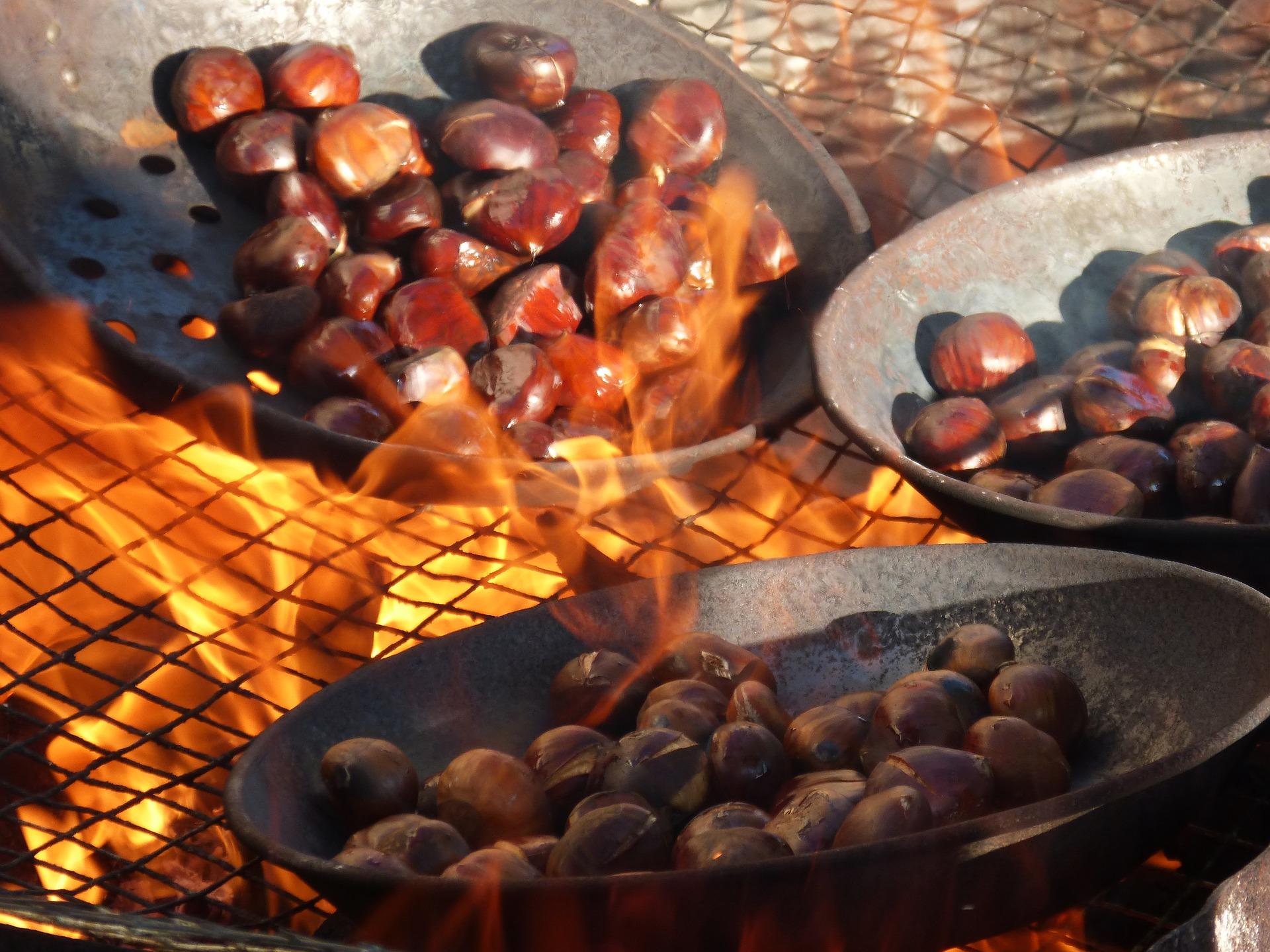 Chestnut Festival In Elos, Kissamos