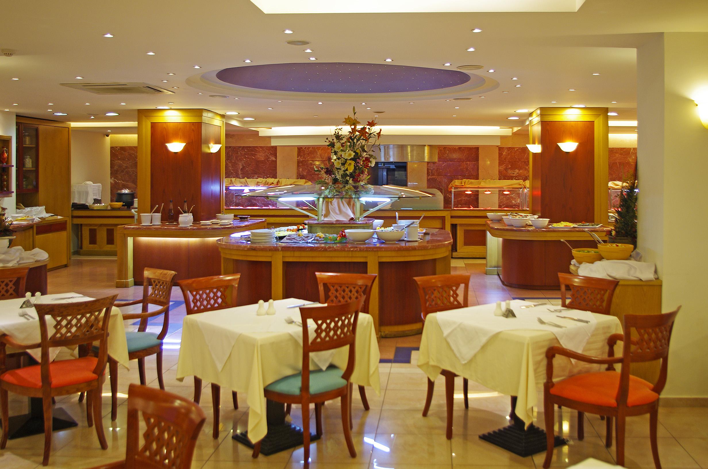Bacchus Restaurant at Mythos Palace Resort & Spa
