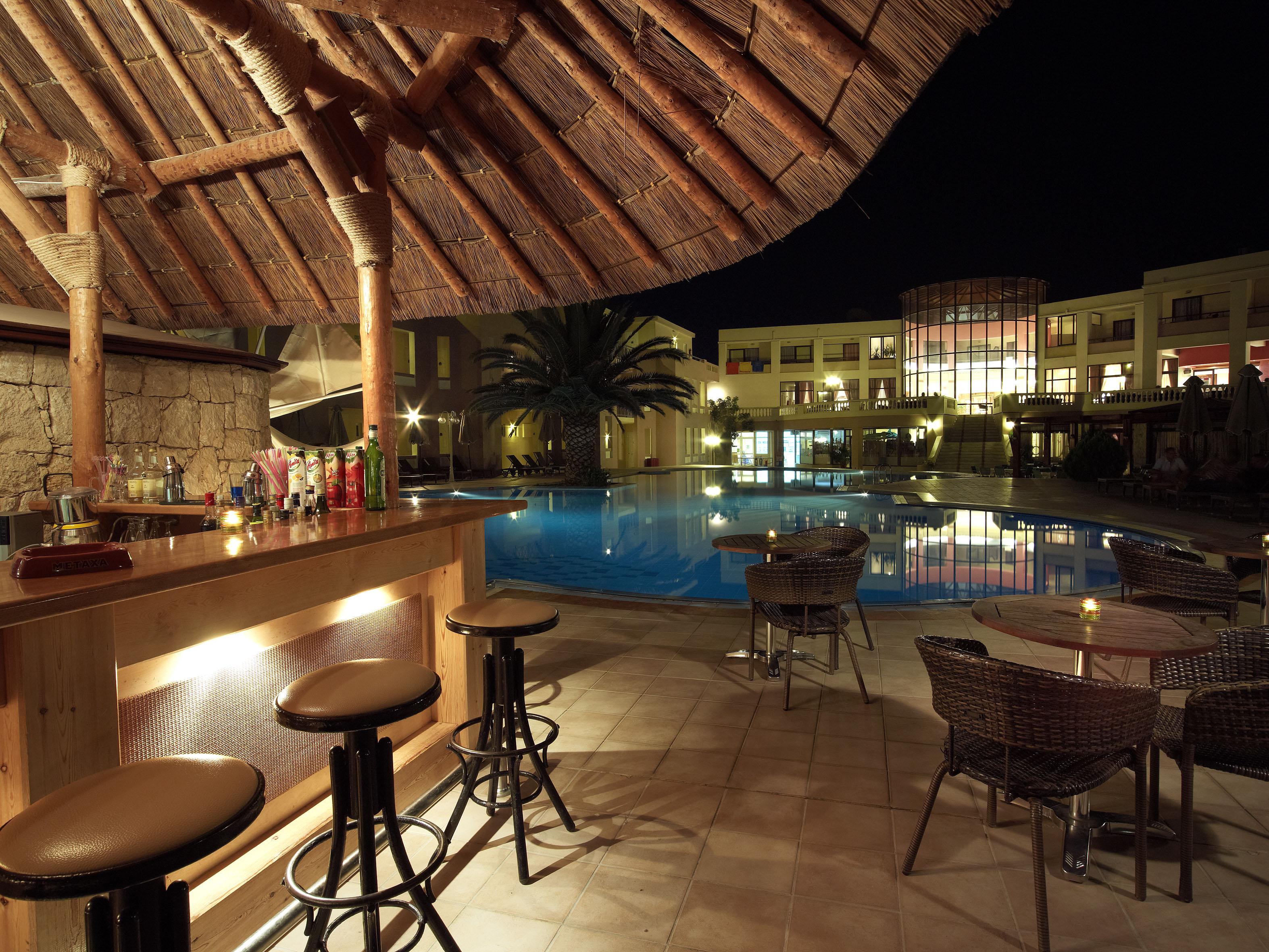 Pool Bar Blue Lagoon at Mythos Palace Resort & Spa in Georgioupolis