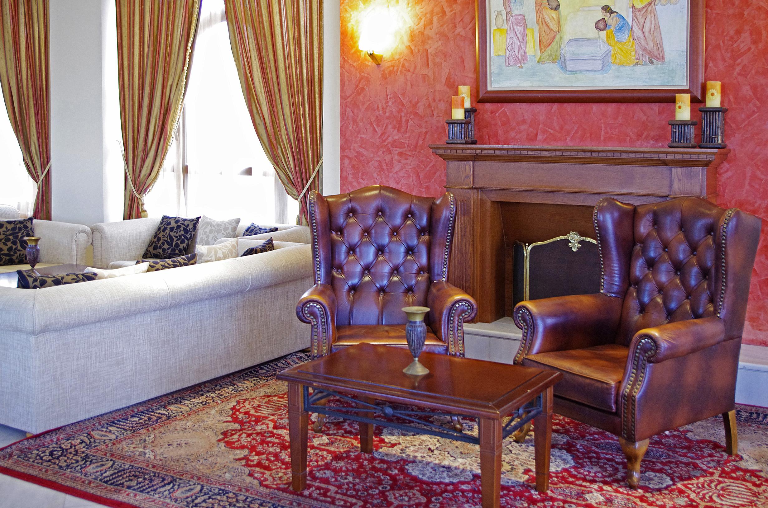 Dionysos Lounge at Mythos Palace Resort & Spa in Georgioupolis