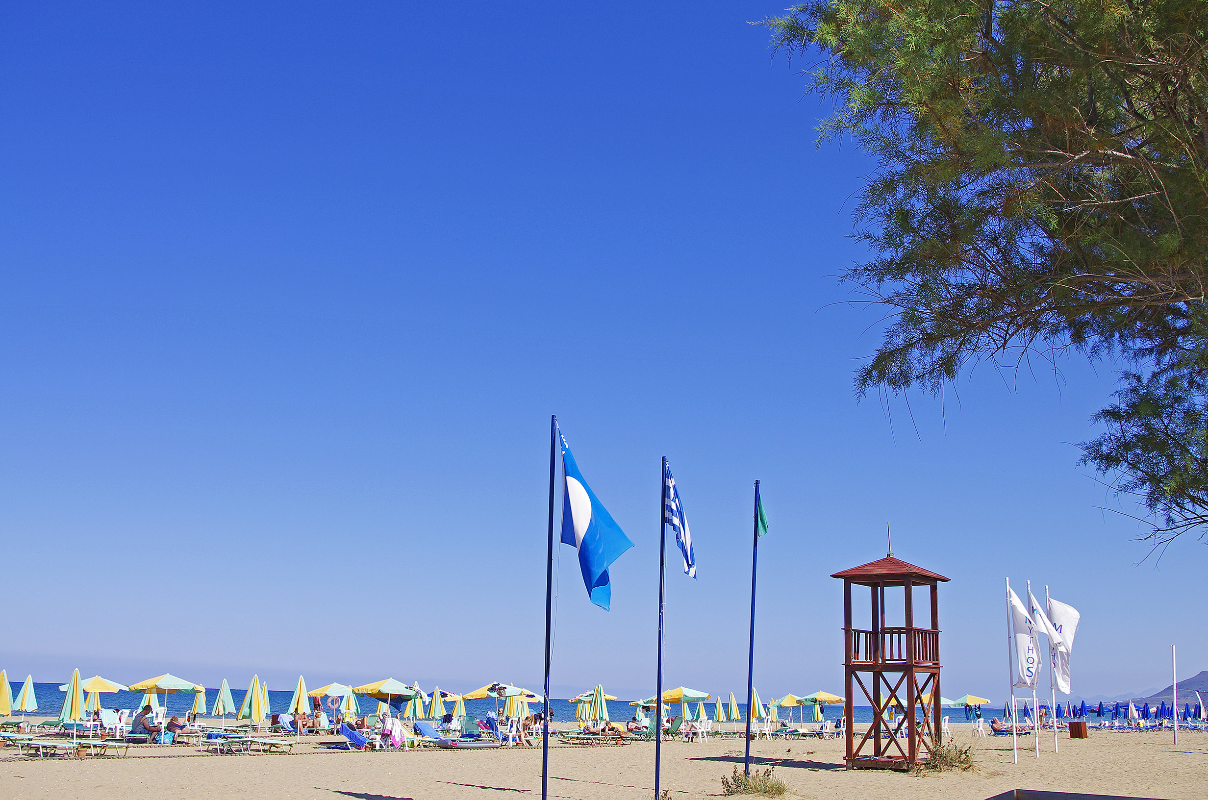 Mythos Palace Resort & Spa Blue Flag Beach