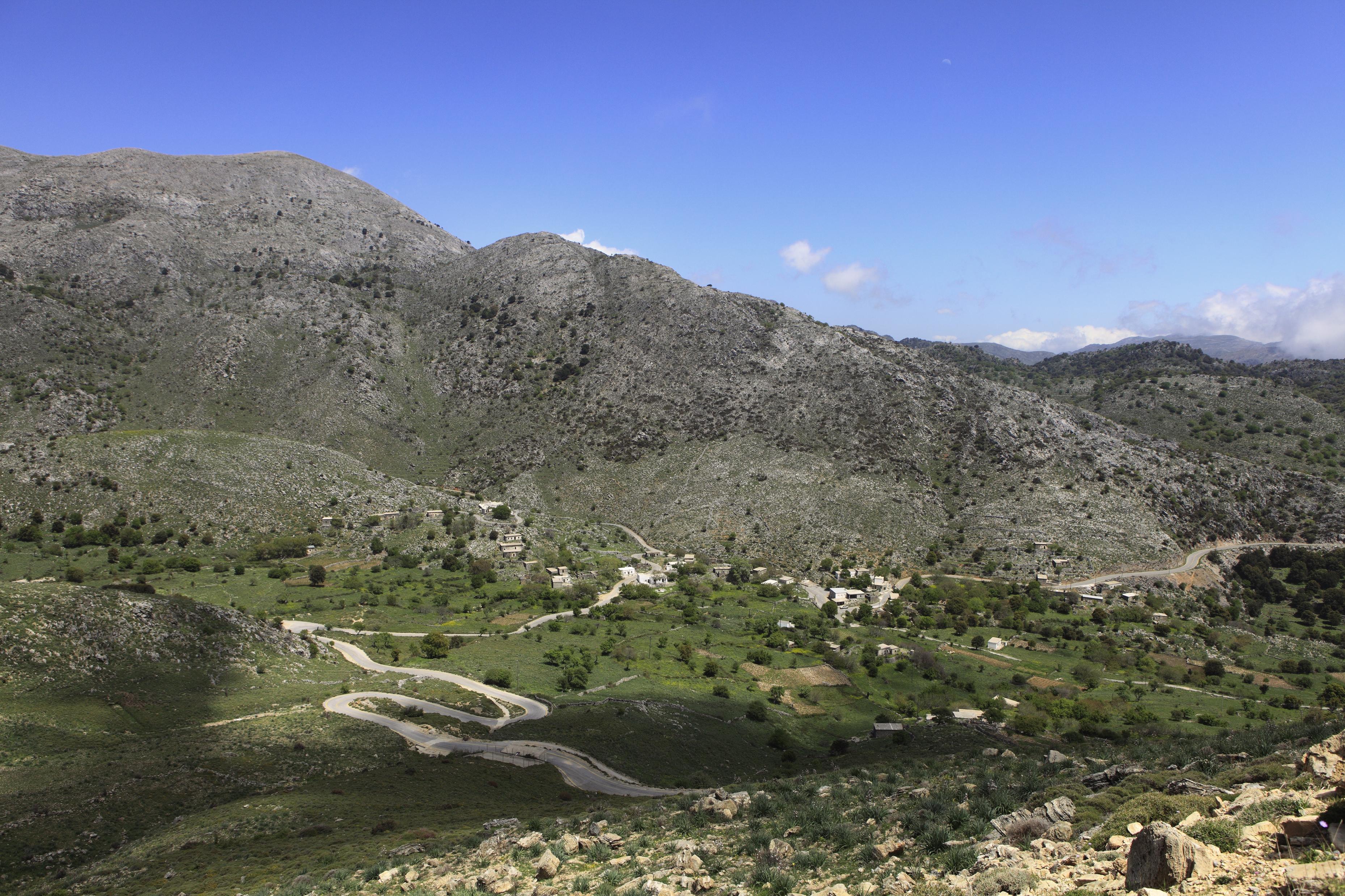 Asfendos Plain In Crete