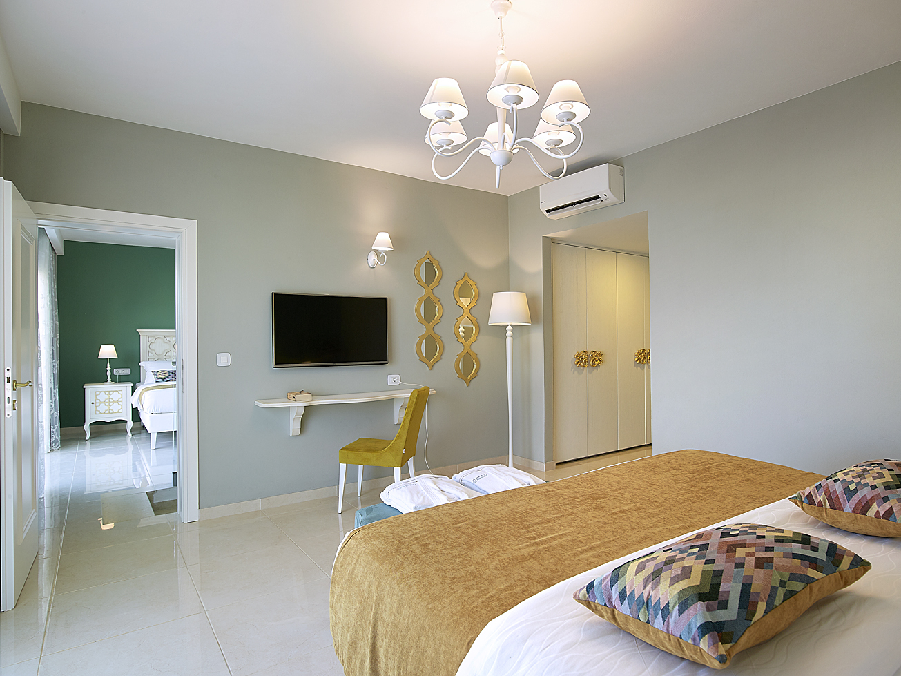 Grand Family Suite: Perfect For Family Holidays At Anemos