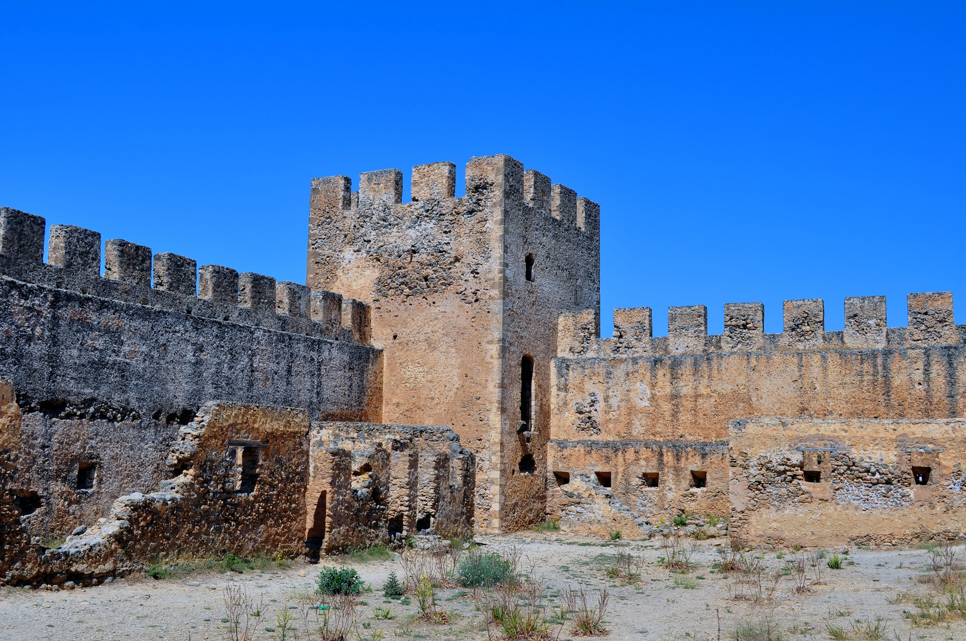 Frangokastello- The Medieval Castle
