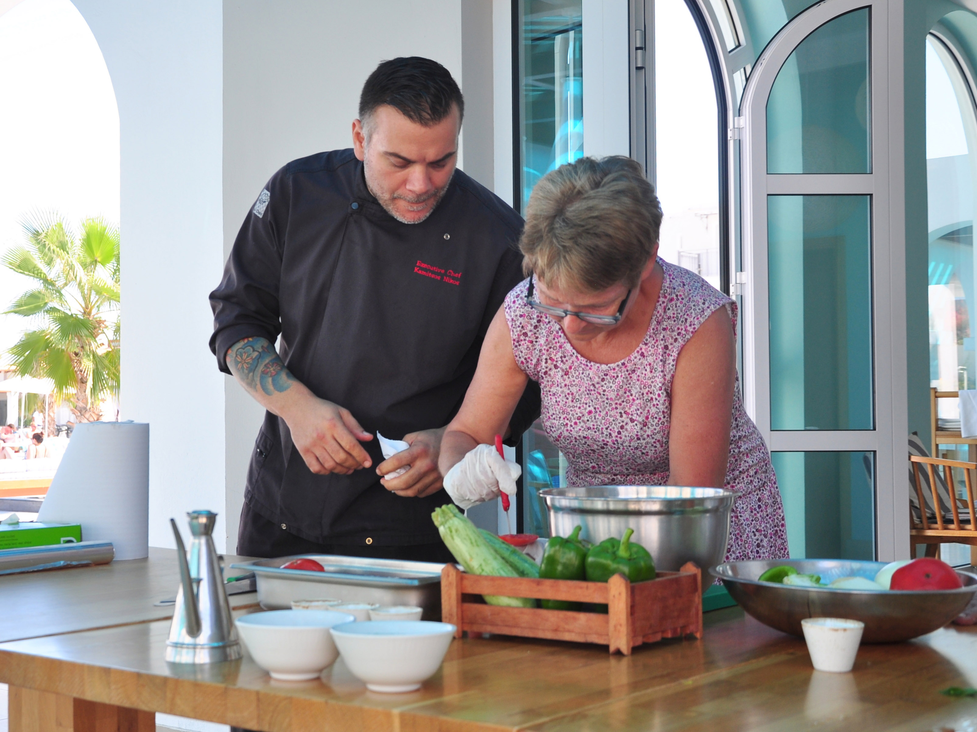 Cooking Lessons During Your Visit In Georgioupolis