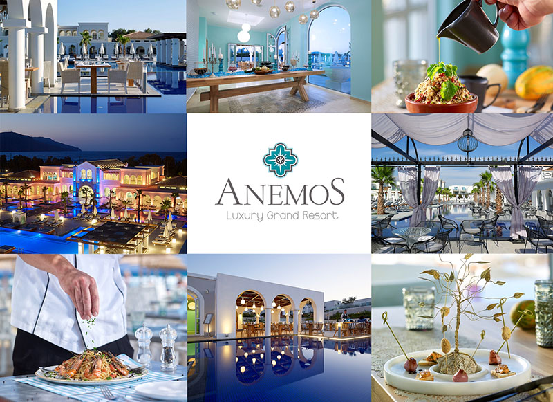 «Golden Minoan Olive» Award For Anemos Luxury Grand Resort
