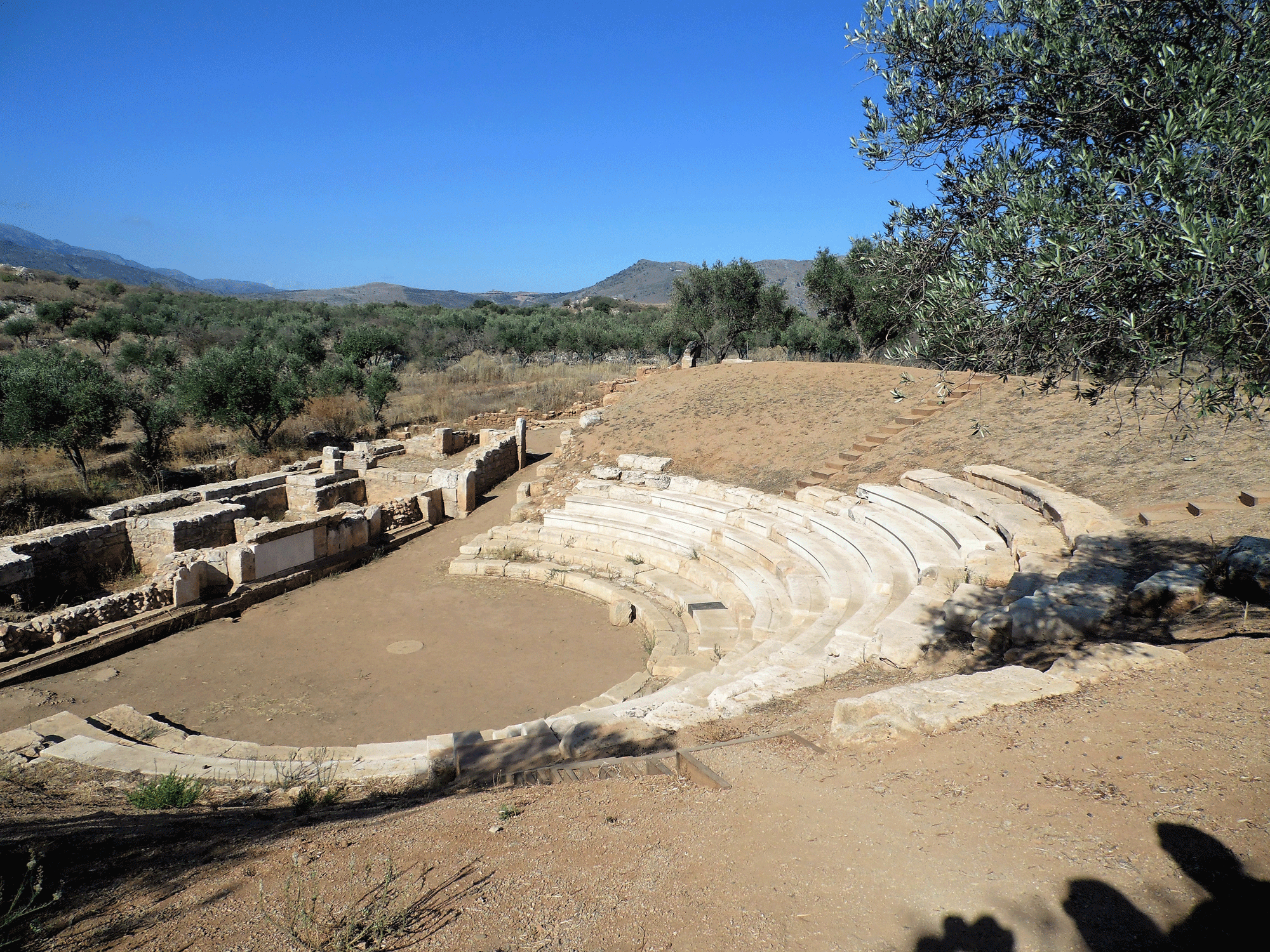 Ancient theater of Aptera