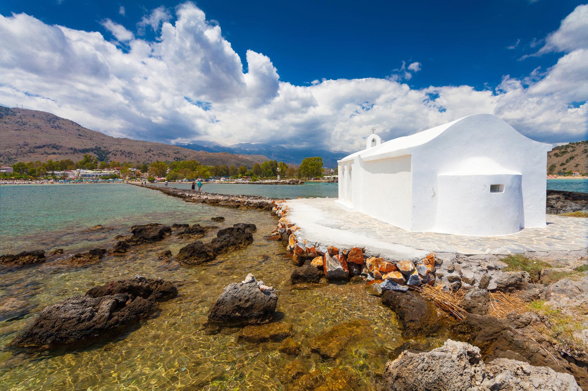 Agios Nikolaos Church Georgioupolis back.