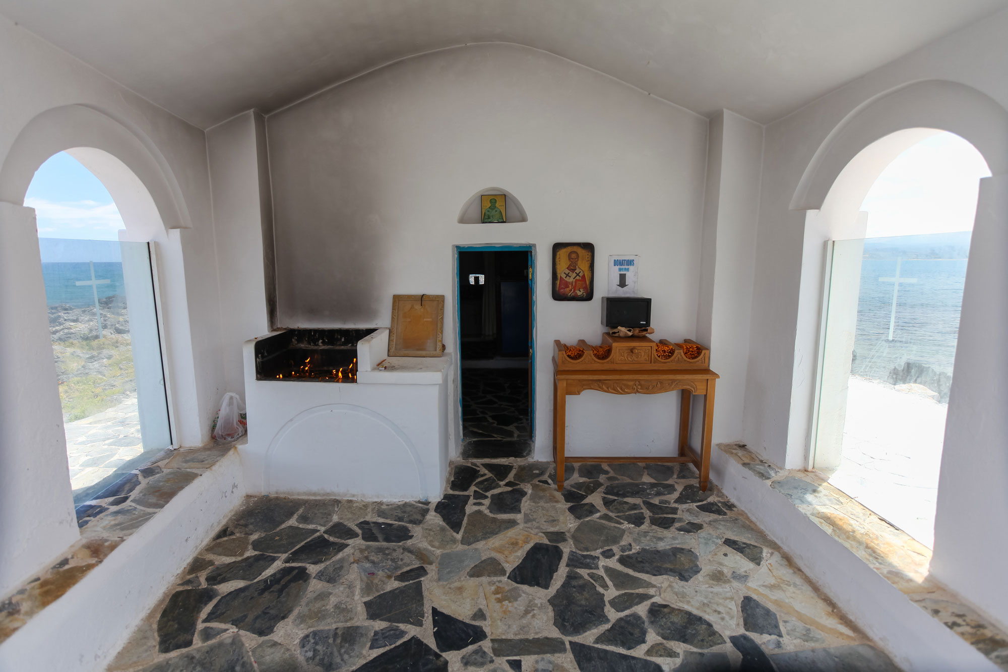 Agios Nikolaos Church Georgioupolis interior