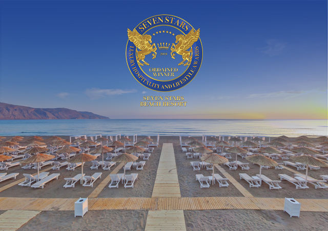 "A New Distinction For Anemos Luxury Grand Resort: The Hotel Won The ""SEVEN STARS LUXURY HOSPITALITY AND LIFESTYLE AWARD""."