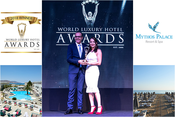 Mythos Palace Resort & Spa awarded as one of the Best Luxury Family All-Inclusive Hotel in Southern Europe