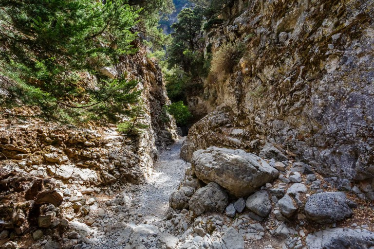A Walk Through Imbros Gorge
