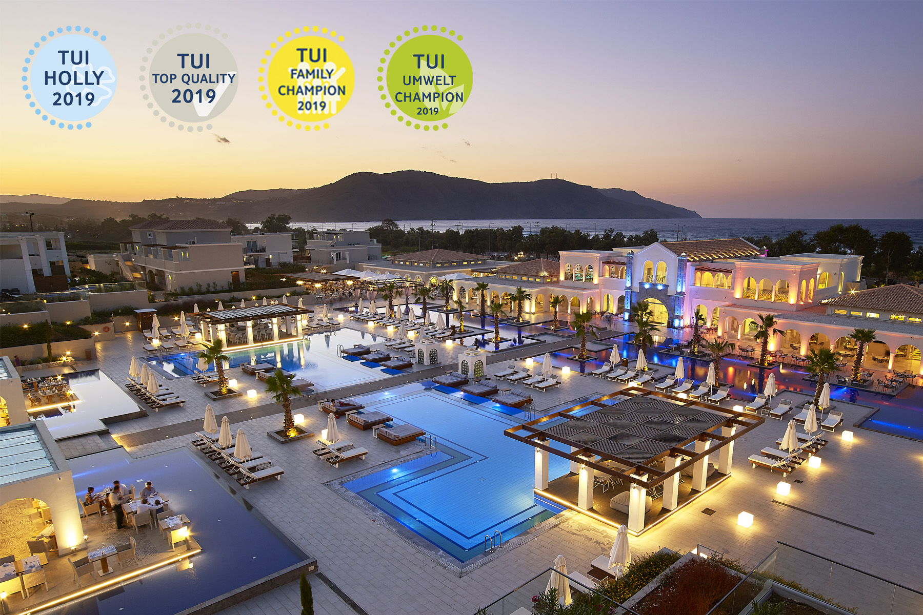The Anemos Luxury Grand Resort Is The Highly Prized Hotel Of TUI.