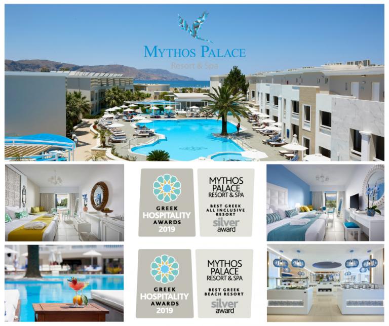 Mythos Palace Resort & Spa excels among Greek hotels