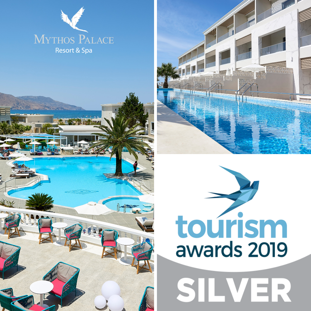 Silver Award For Mythos Palace Resort & Spa In Tourism Awards 2019