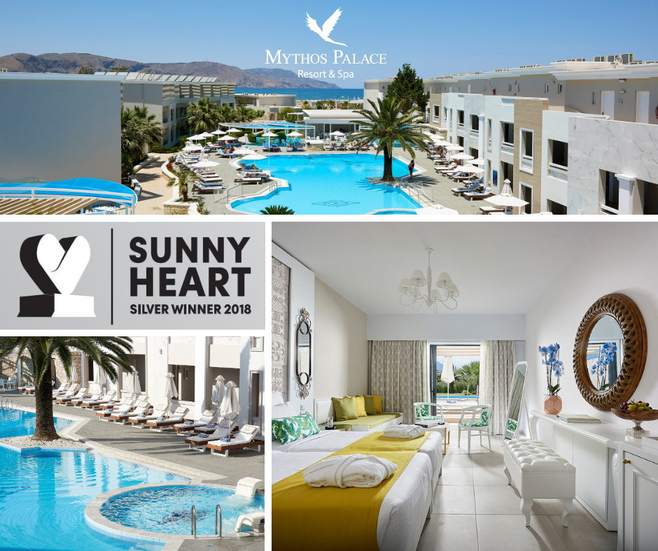 Sunny Heart Silver Award For Mythos Palace Resort & Spa