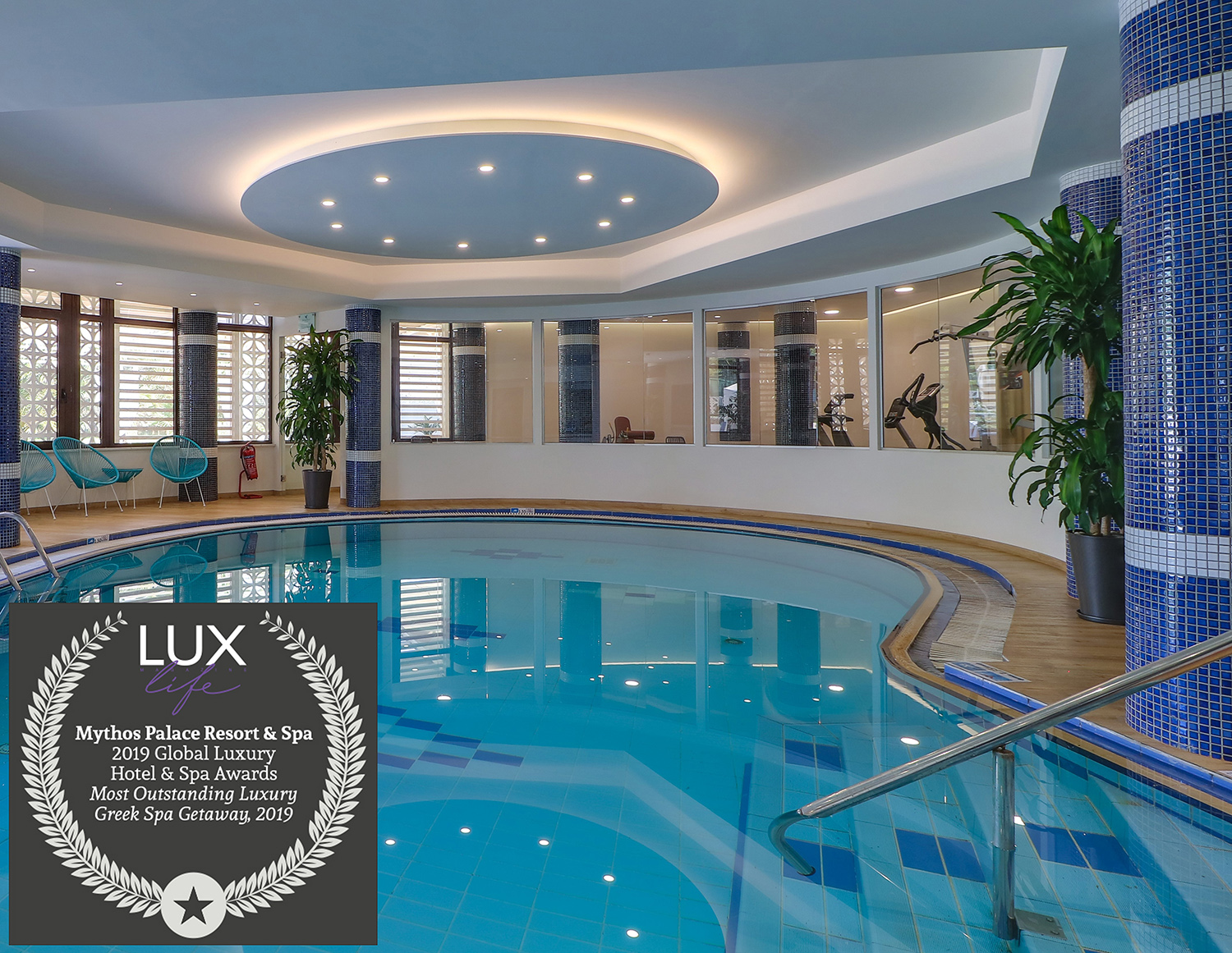 Mythos Palace Resort & Spa Receives Award From LUXLife Magazine