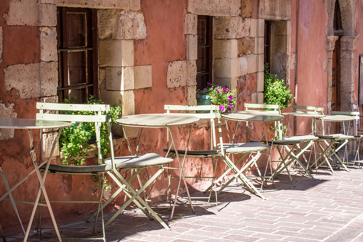 Cafe Culture In Chania: 6 Of The Best
