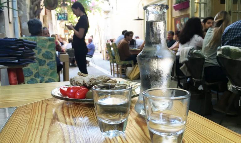 Raki: the spirit of Crete