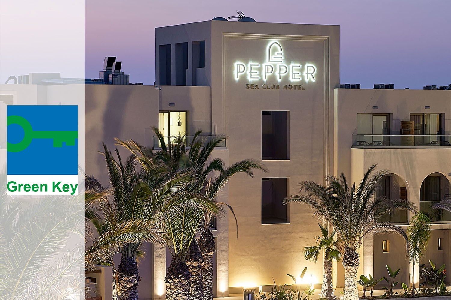 We Are Very Proud To Announce Pepper Sea Club Hotel Is Awarded The Green Key Eco-label!